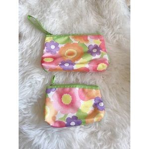 Two Clinique Make Up Pouches
